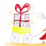 Cartes anniversaire - Les petits chariots