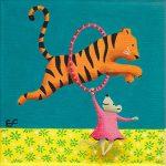 Tigre au cirque